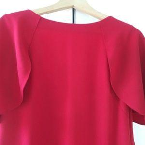 Calvin Klein Dresses - Used. red Calvin Klein dress, size 12